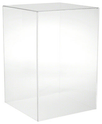 """Plymor Brand Clear Acrylic Display Case with No Base, 12"""" W x 12"""" D x 18"""" H"""