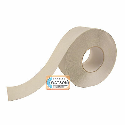 100mm x 20m Clear/Translucent ANTI SLIP TAPE High Grip Adhesive Backed Non Slip