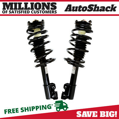Front Pair (2) Complete Struts Assembly w/coil springs Fits 1991-2002 Saturn SL