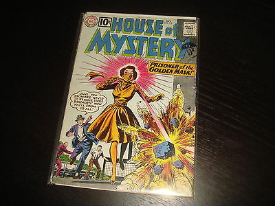 HOUSE OF MYSTERY #115  Silver Age   DC Comics 1961  VG+/FN-