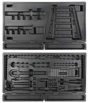 Halfords Advanced Professional Empty 120 Piece Tray Sockets Tool Box Storage