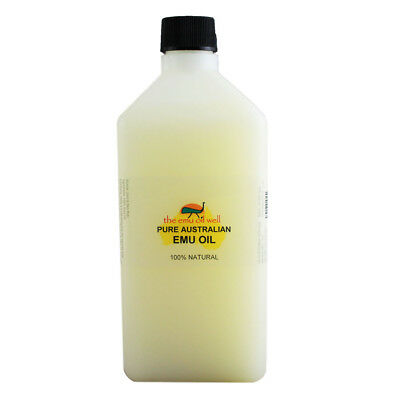Australian Emu Oil 500ml 100% Pure Perfect for skin/hair/muscles/joints