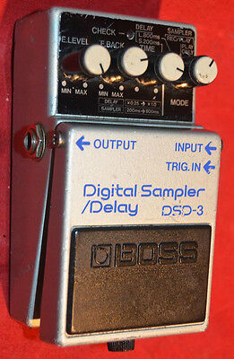 vintage boss dsd3 delay looper  made in japan