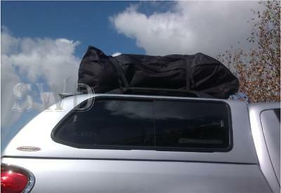 roof rack bag style box for rails bars car van 4x4 cargo luggage carrier LARGE