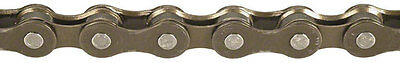 """Kmc Z51 6-7-8-18-21-24 Speed 1/2"""" X 3/32"""" Brown Mtb Mountain Bicycle Chain"""