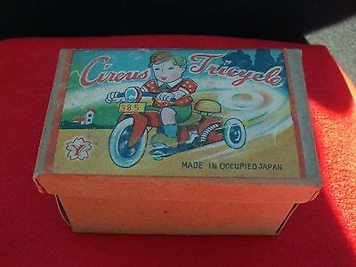 Vintage 1945-52 Occupied Japan Celluloid & Tin Wind-Up Toy W/Original Box.