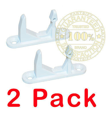 2 PACK NEW! Frigidaire Gibson Washer Front Load Door Strike Lock catch 134456602
