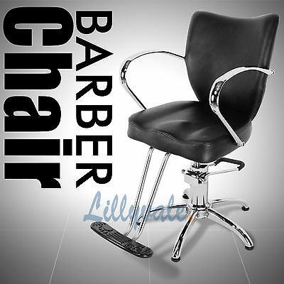 Professional Salon Barber Chair Barbers Hairdressing Hair Beauty Shaving /PARIS/