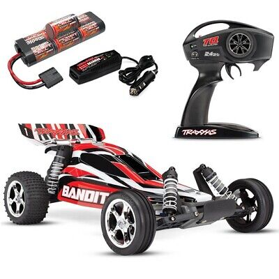 Traxxas Bandit XL-5 RTR Electric Buggy w/TQ 2.4GHz, Battery, & Charger - 24054-1