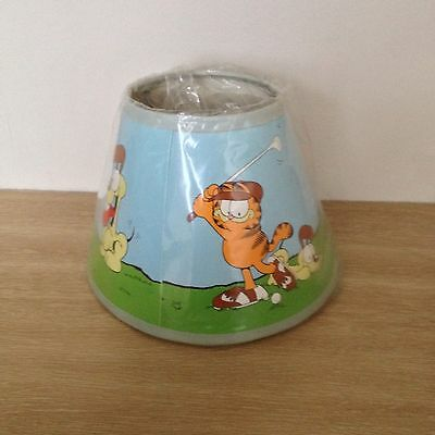 Garfield Golf Lampshade Unused Brand New still in wrapper Lamp shade