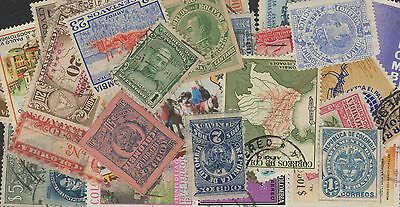 Colombia Stamp Collection -- 900 Different -- Top Quality