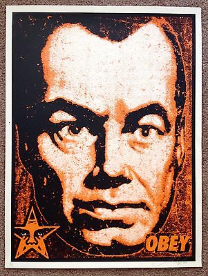 SHEPARD FAIREY PRINT- OBEY • BIG BROTHER - AP • RARE!!!  SIGNED!!!