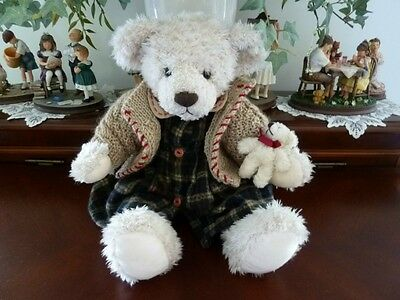 "RUSS Bears From the Past COSETTE w/Teddy 16"" Plush Item # 101443"