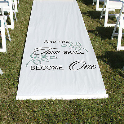 Hortense B Hewitt Two Shall Become One Aisle Runner 30045 New