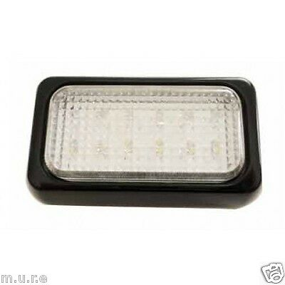 247 LIGHTING Black Reverse Lamp 12 White Super Bright LED 12/24 Volt CA6066