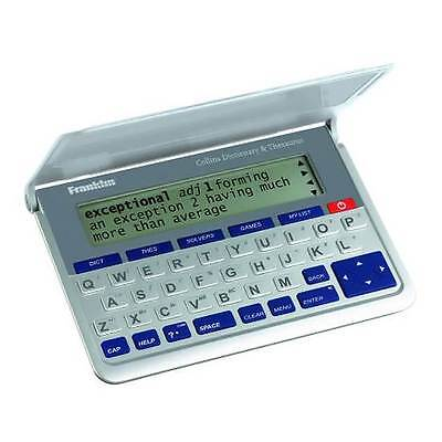 Franklin DMQ570 Electronic Collins English Dictionary & Thesaurus New