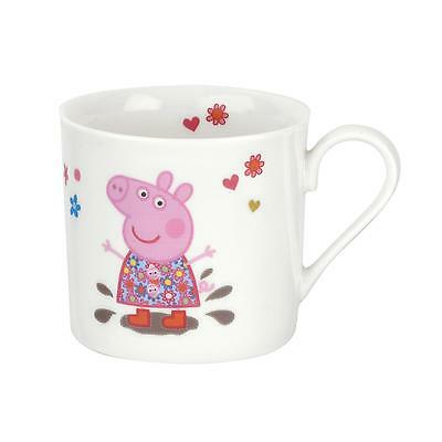 Portmeirion Peppa Pig & George Childs Small Single China Mug 0.2L Gift Boxed New