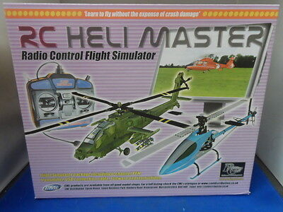 RCSIM51 RC Heli Master Flight Simulator Reality Craft Mode 2 Helicopter Sim