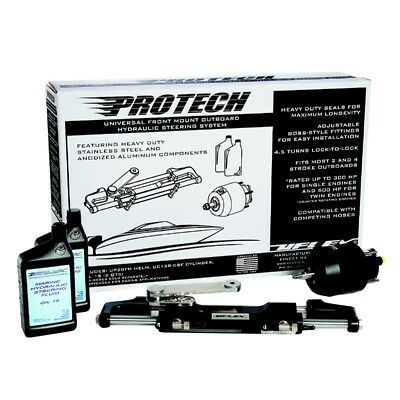 UFlex Protech 1.0 Front Mount OB Hydraulic System - No Hoses In... [PROTECH 1.0]