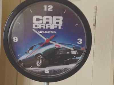 Car Craft Clock 1968 Chevelle Battery Operated Man Cave Garage Car Enthusiast