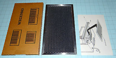 WB2X9883 New Genuine OEM GE Microwave Charcoal Filter Free Combined Shipping!