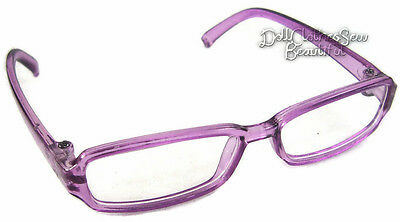 "Purple Eyeglasses For 18"" American Girl Doll Clothes Accessory Shipped in Box"