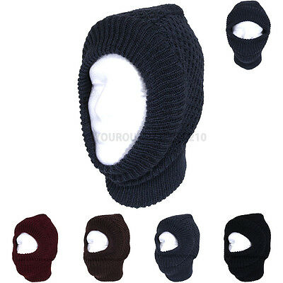 Winter Face Mask Warm Thick Face Cover One Hole Facemask OD Ski Snow Masks New
