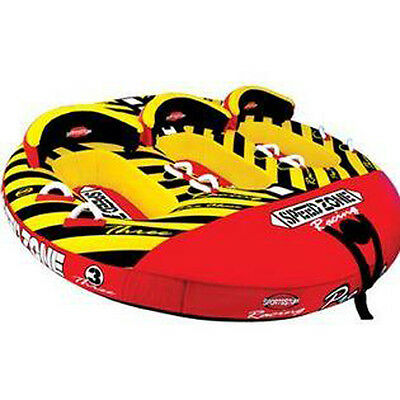 Sports Stuff Speedzone 3 Towable Ski Tube Inflatable Biscuit Boat Ride