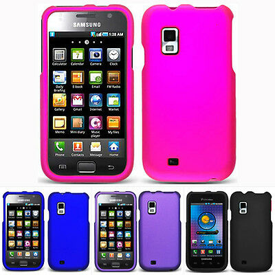 For Samsung Fascinate Showcase Mesmerize i500 Color Rubberized Hard Case Cover