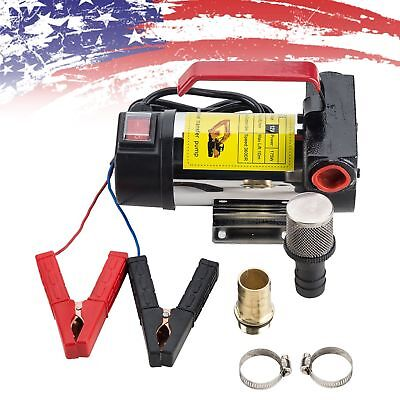 12 Volt DC 175W 45L/Min Oil Diesel Kerosene  Fuel Transfer Pump Portable