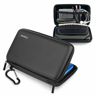 Black Eva Pouch Carry Case Cover For Nintendo NEW 3DS XL / 3DS XL / 3DS LL