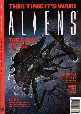 ALIENS Volume 2 #8 - February 1993 - Large Format - Back Issue