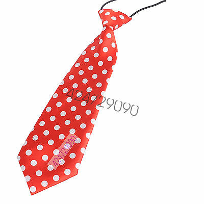 Fashion Boys And Girls Neck Tie Styles Elastic For Children Prom School Tie