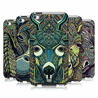HEAD CASE DESIGNS AZTEC ANIMAL FACE 6 CASE COVER FOR APPLE iPOD TOUCH 4G 4TH GEN