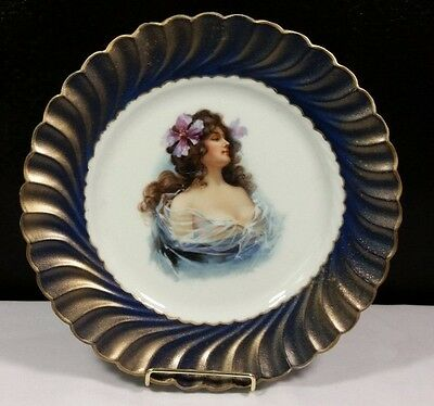 Heinrich H & C china-Lady Plate