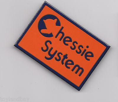 Vintage Old Style Sign Magnet Chessie Railroad Porcelain Mint Old Style Logo NEW