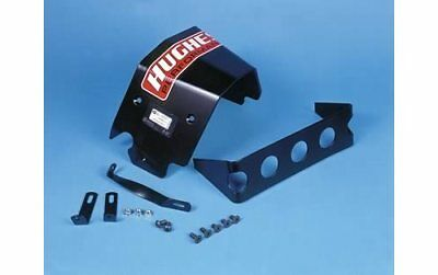 Hughes Transmission Shield Case Aluminum Black Powdercoated Chevy TH-350 Kit
