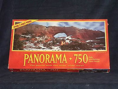 PANORAMA ARCHES NATIONAL PARK, UTAH 750 PIECE JIGSAW PUZZLE*