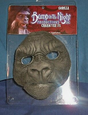 Bump Night Gorilla Ape Prosthetic Foam Mask Appliance Costume Dress Ta458