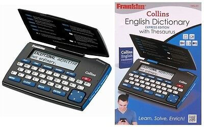 Franklin DMQ221 Electronic Dictionary English Express Edition Thesaurus