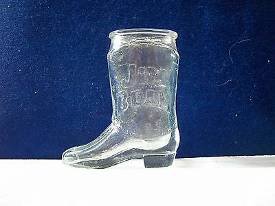 Jim Beam Bourbon Whiskey Boot Shot Glass shotglass