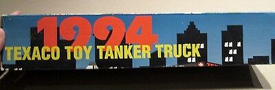 1994 Collectible Texaco Tanker Truck - 1st in the series