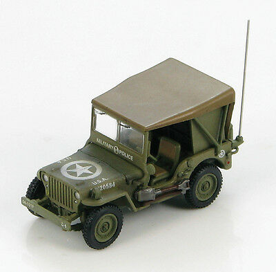 Willys MB Jeep 101st MP Batt. 5th US Army 1:72 Hobby Master Diecast Model HG4212