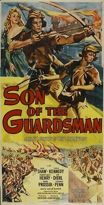 Son of the Guardsman - Cliffhanger Movie Serial DVD  Robert Shaw