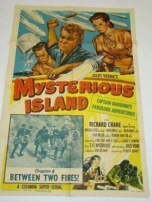 Mysterious Island -  Classic Cliffhanger Serial DVD Richard Crane