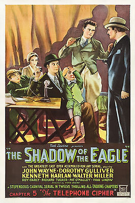 The Shadow of the Eagle -  Classic Cliffhanger Serial DVD  John Wayne