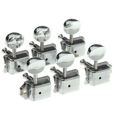 6 Chrome Guitar Tuning Keys Pegs Guitar Tuners Machine Heads Acoustic Electric