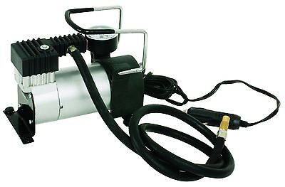 Heavy-Duty Car Tyre Air Compressor Inflator 12V 140psi 3m Power Cord 1m Hose New