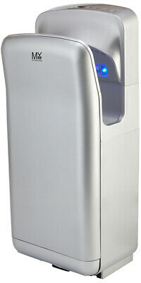 Jet Hand Dryer Commercial High Speed Brush Wall Mounted