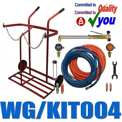 Welding Cutting Set & Gas Portable Trolley Contractors Kit Welders SWP 2037 1267